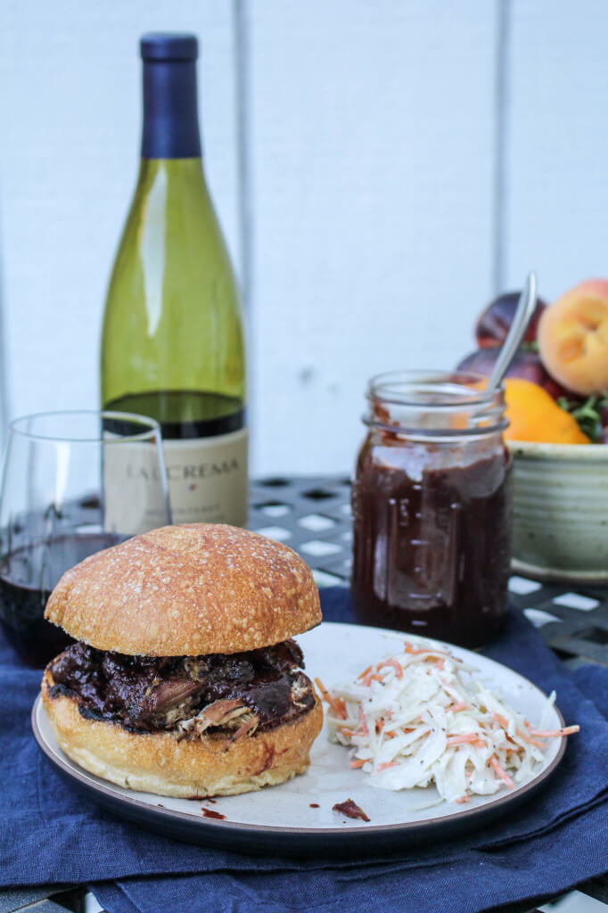 Top 14 Summer Recipes Roundup: Pulled Pork with Blackberry Pinot Noir BBQ Sauce