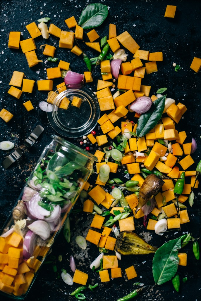Edible Gifts: Butternut Squash, Ginger, and Coconut Soup