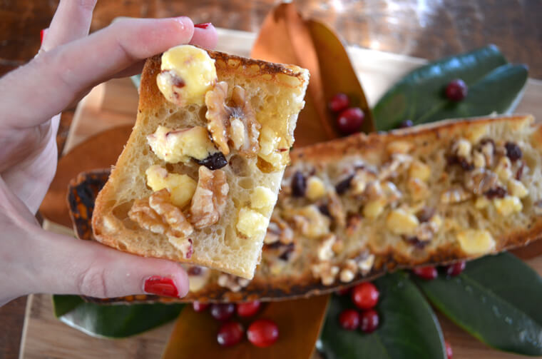 Fruit, Nut and Honey Baguette - hostess gift