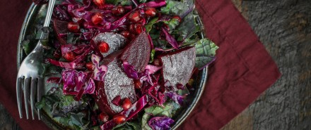 All-Red Winter Detox Salad