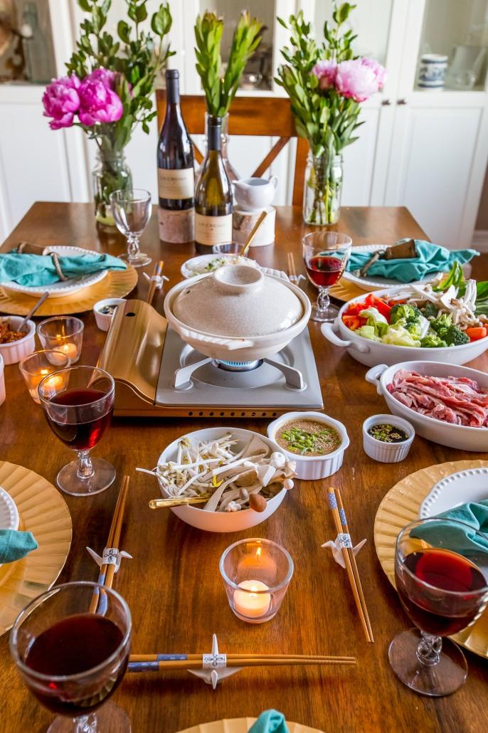 Shabu Shabu & Shabu Shabu Wine Dinner - La Crema