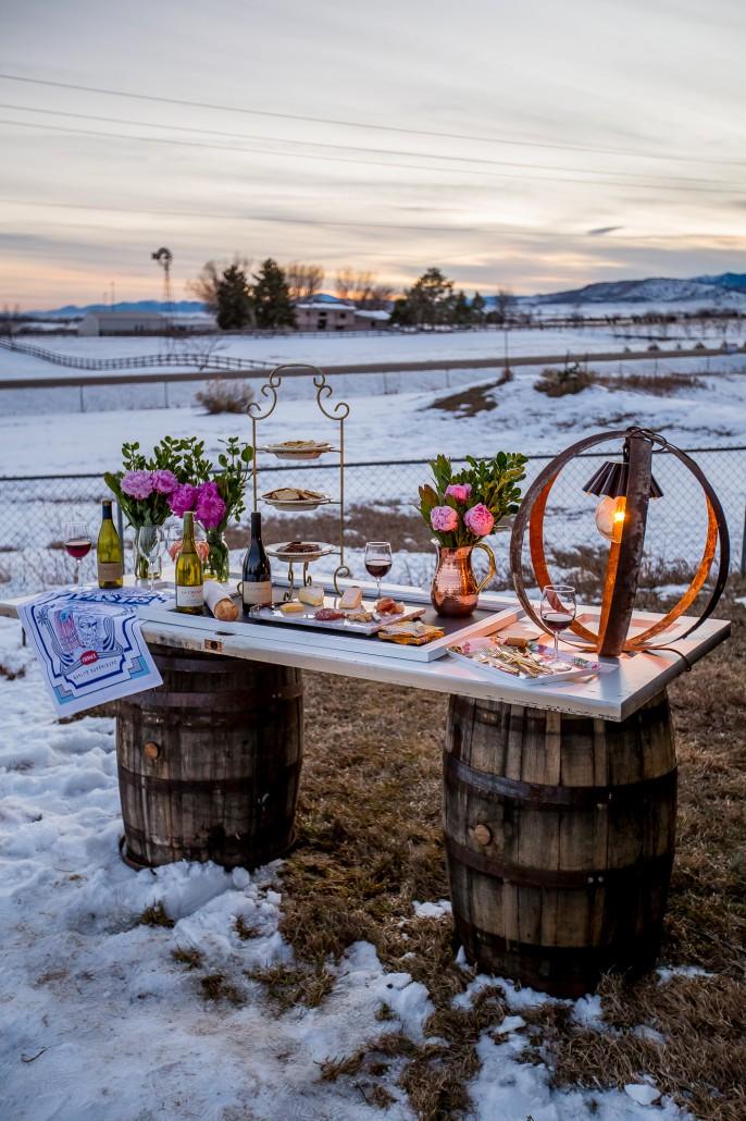 Rustic Wine Barrel Table Diy La Crema
