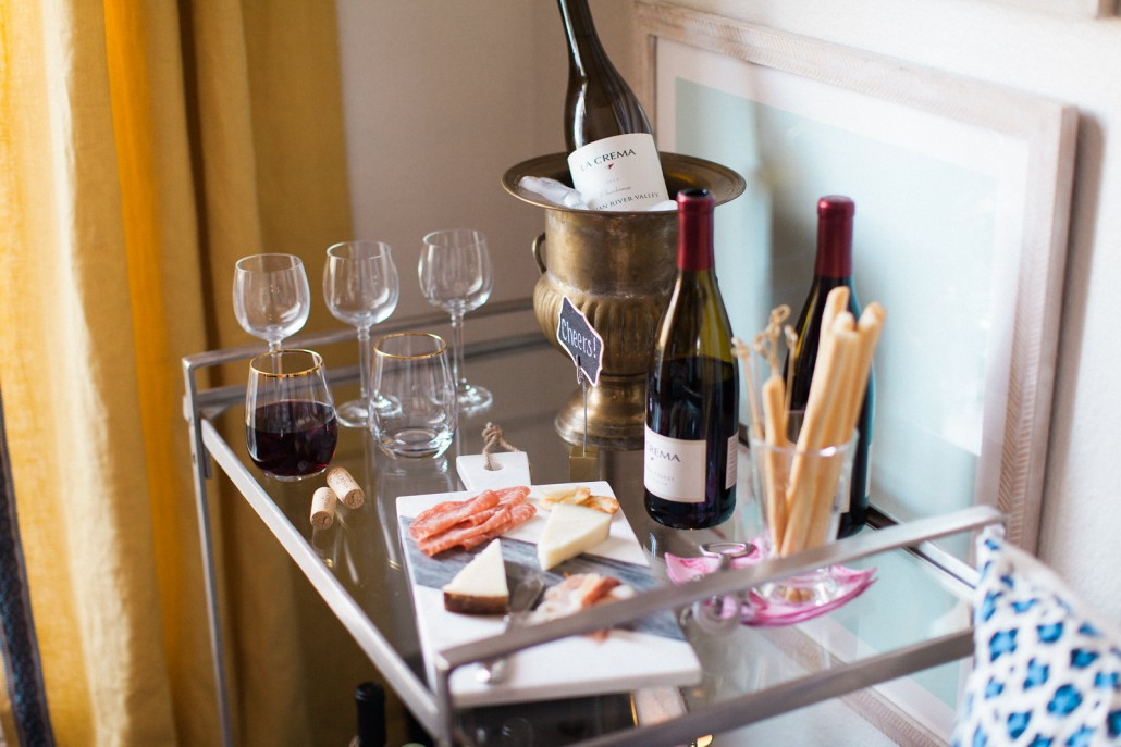 Styling a Wine Cart