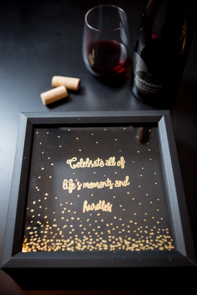 Diy Cork Display To Celebrate Life S Moments La Crema