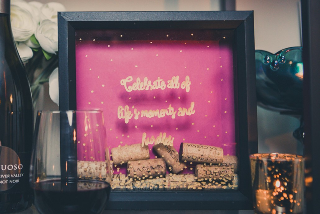 DIY Cork Display