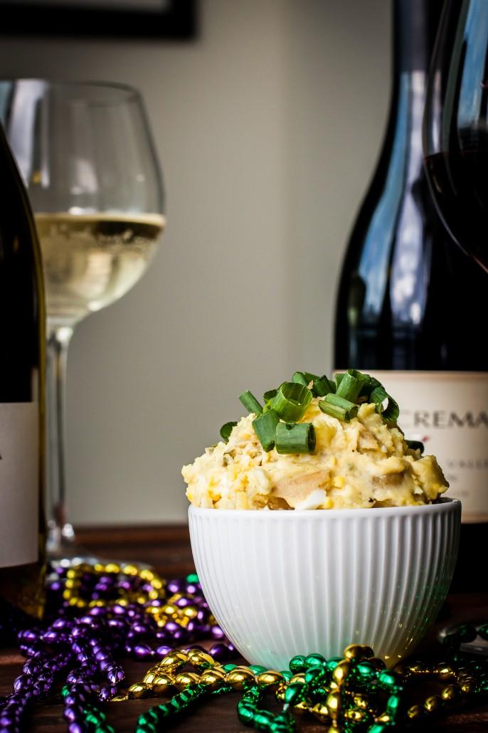 Mardi Gras Potato Salad