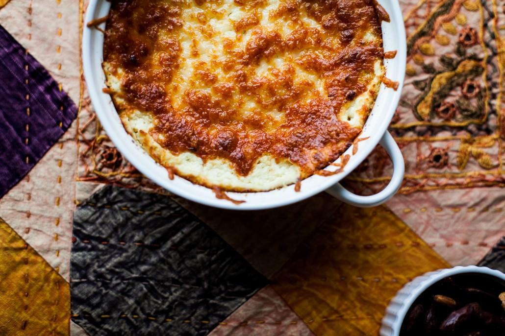 Tapas Party - Goat Cheese Artichoke Dip