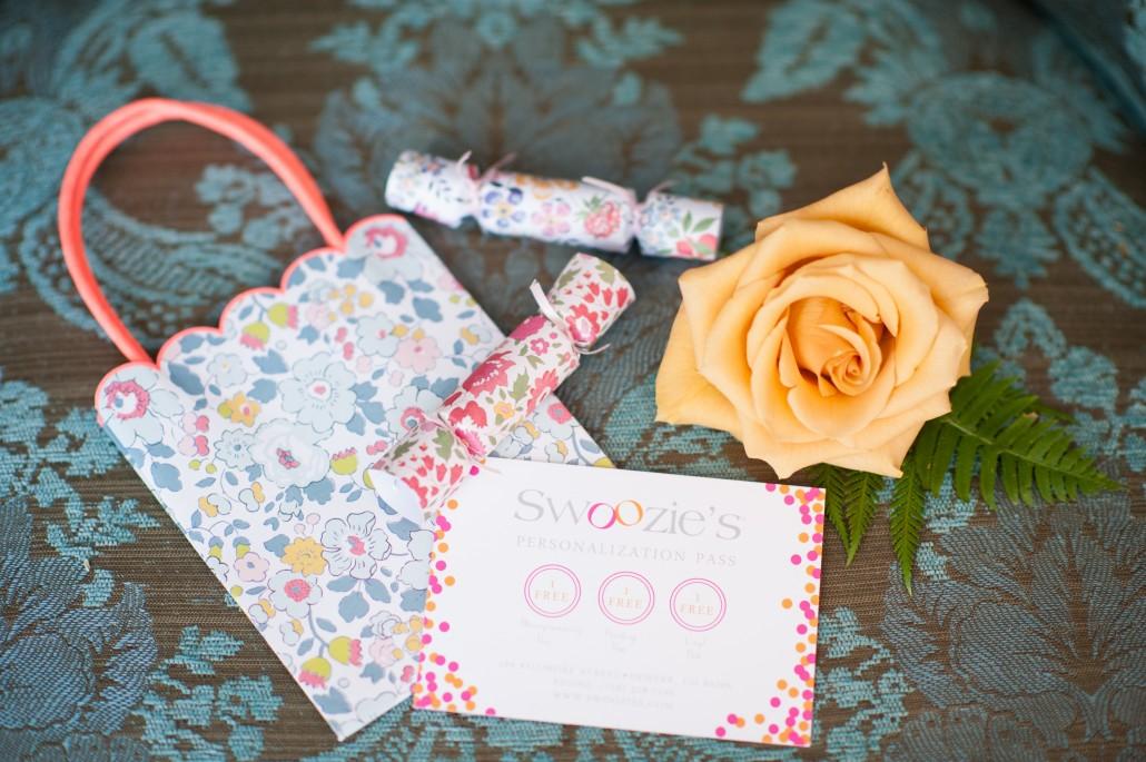 Goodies for a flower arranging class
