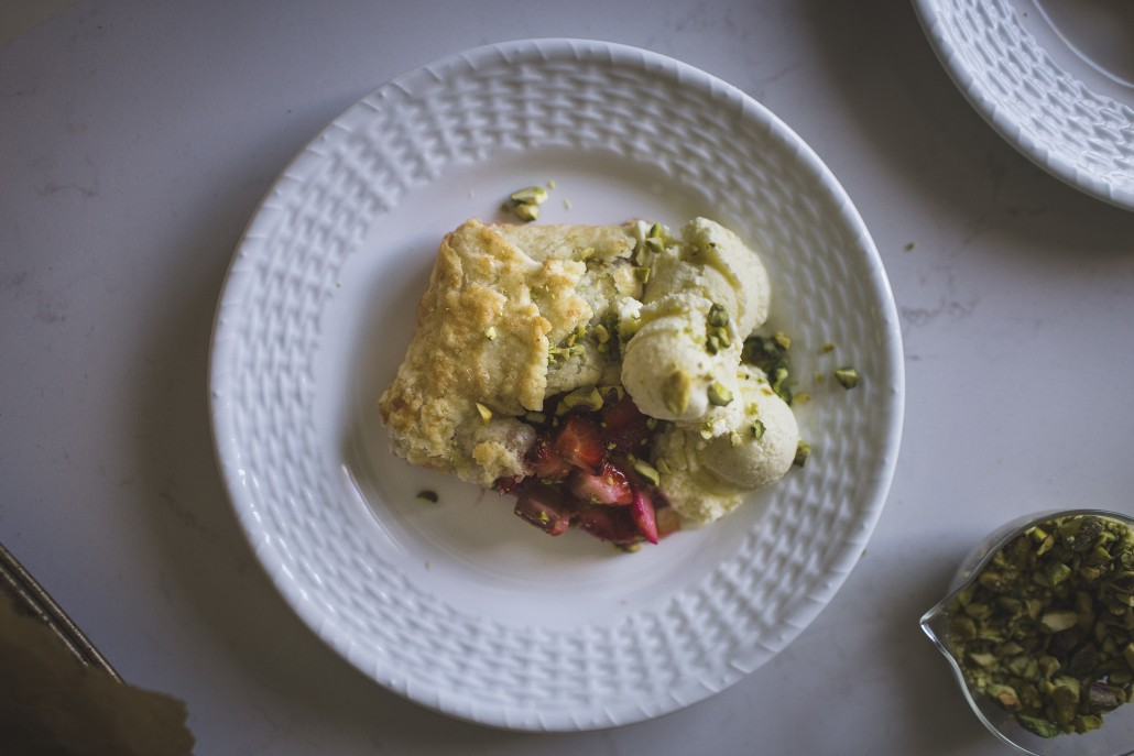 Strawberry Rhubarb Galette | La Crema Does Seattle