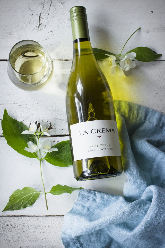 La Crema Monterey Pinot Gris to pair with a spiced carrot salad