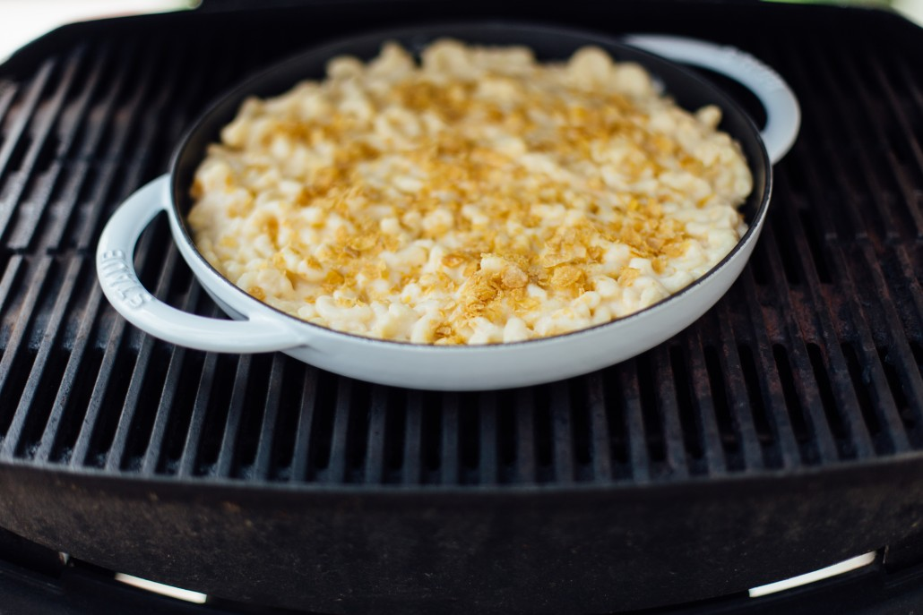 Glamping one-pan mac 'n cheese