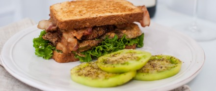 Southern Fried Green Tomato BLT