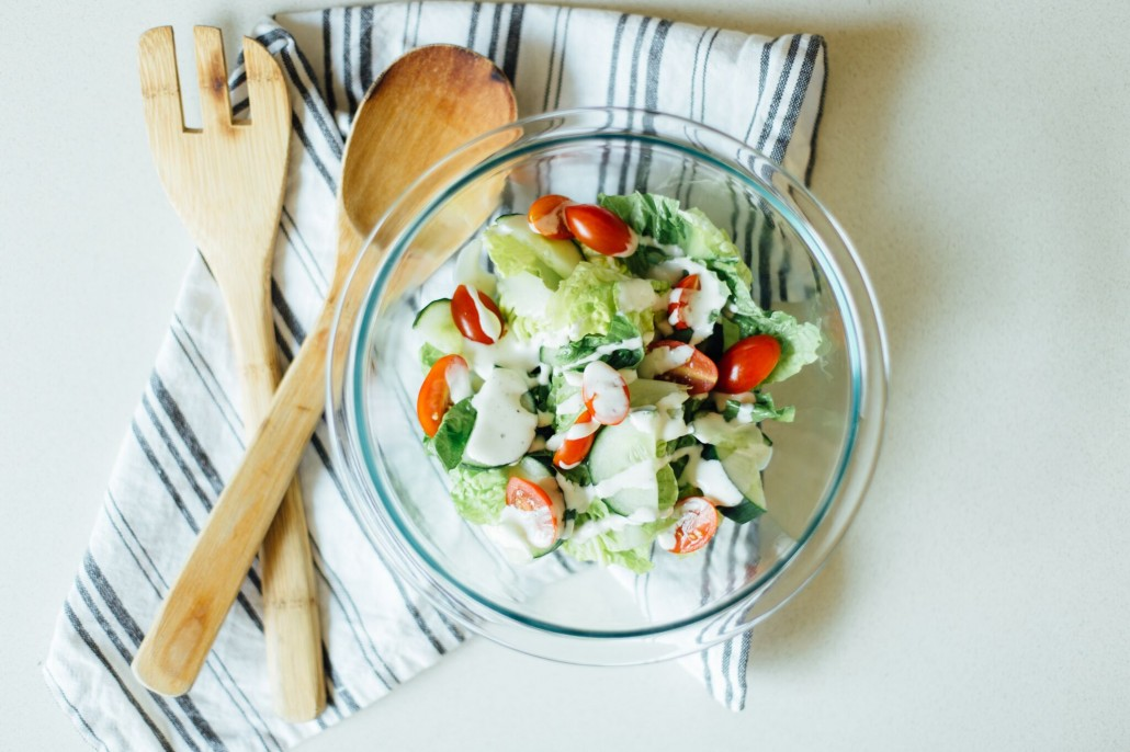 Glamping pre-planning: Ranch dressing for salads
