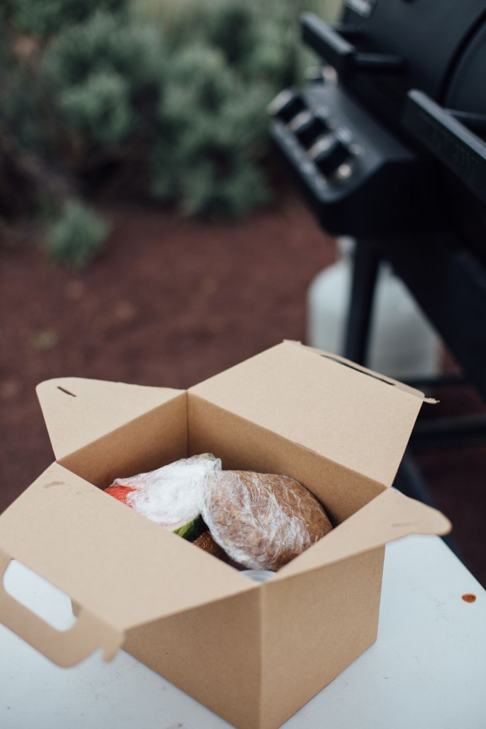 Glamping meals