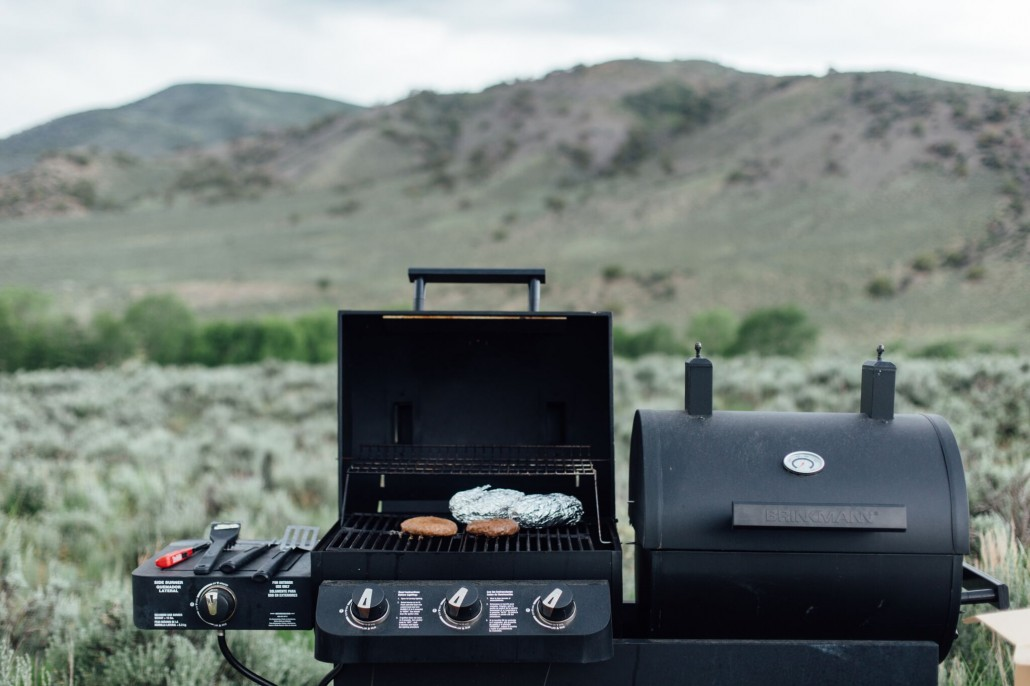 Glamping stocked with outdoor grills