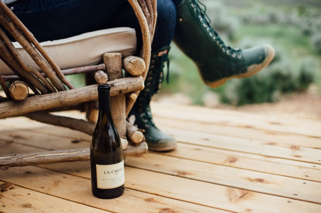 Willamette Valley Pinot Noir is perfect for a glamping adventure