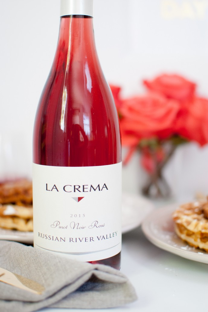 Rosé to pair with chicken and waffles