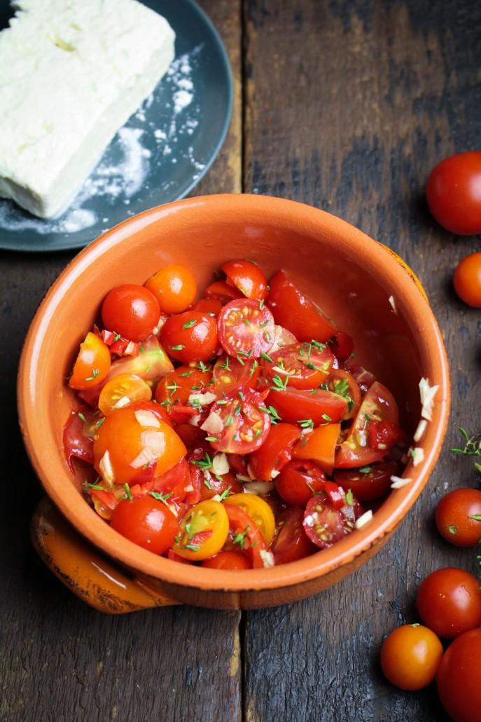 Roasted Tomato Feta Dip