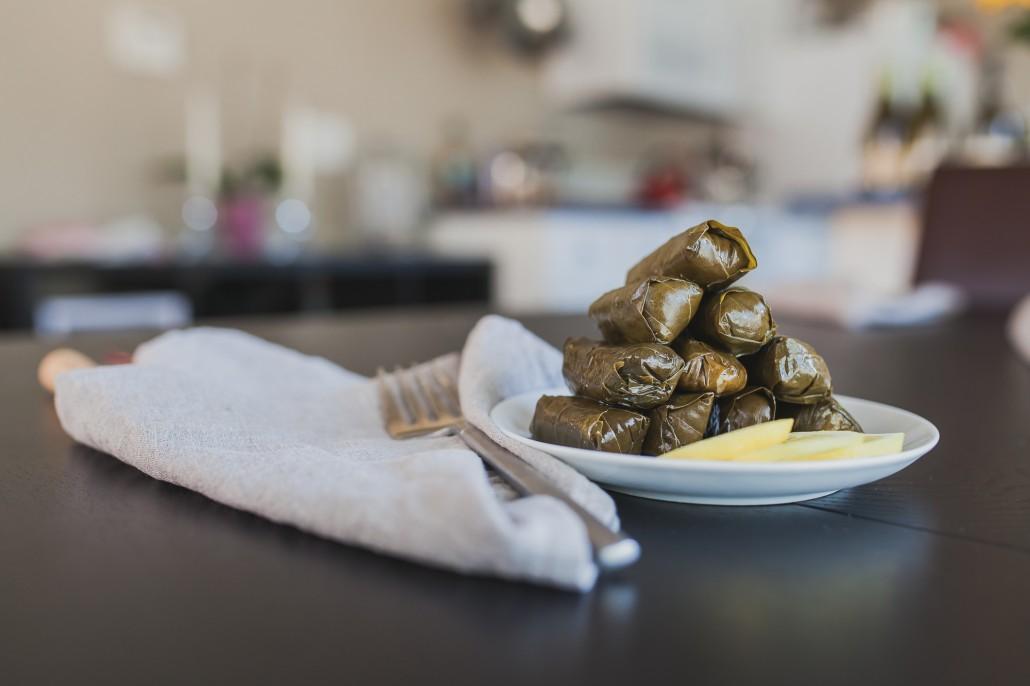 Summer Tapas Recipes: Dolmas | La Crema