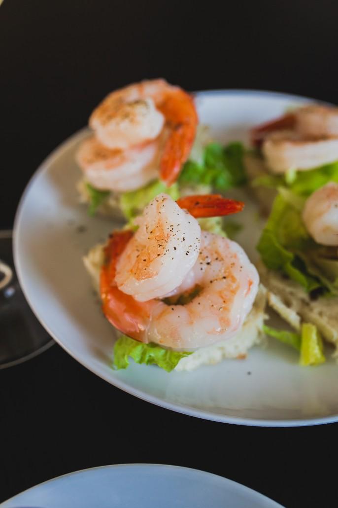Shrimp Cocktail Sliders | La Crema