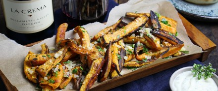 Labor Day Cookout: Greek Sweet Potato Fries