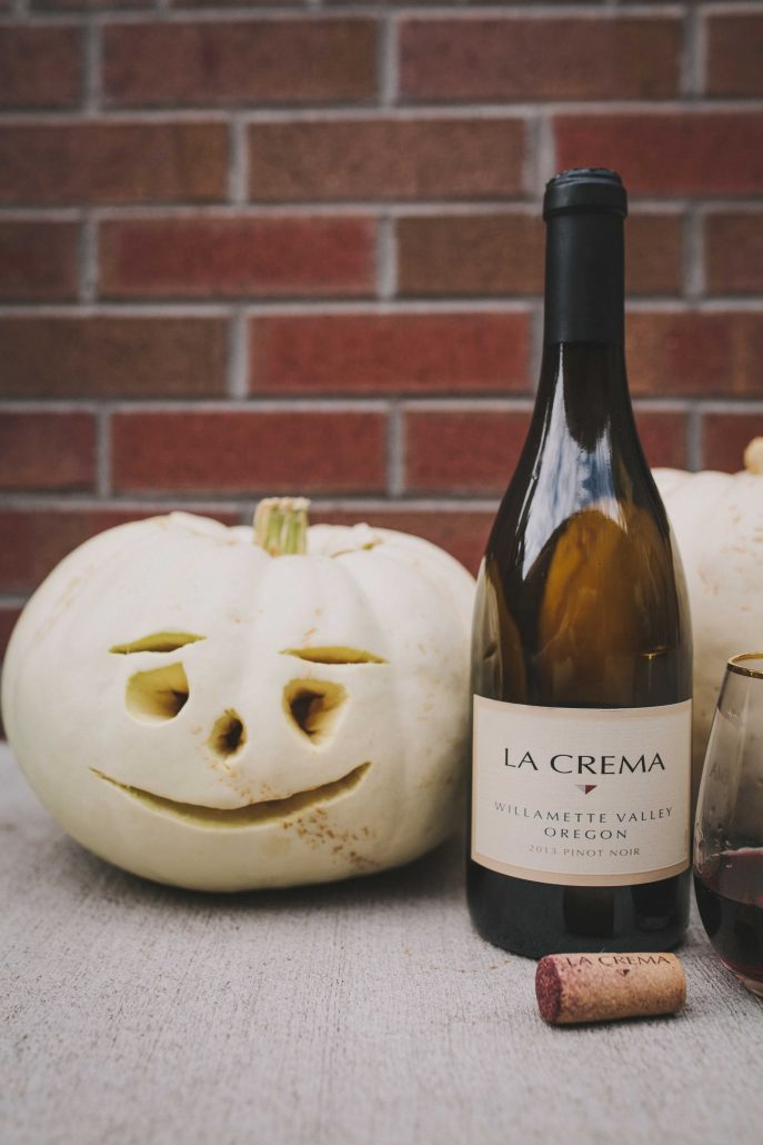 Willamette Valley Pinot Noir is perfect for a Pumpkin Carving Party
