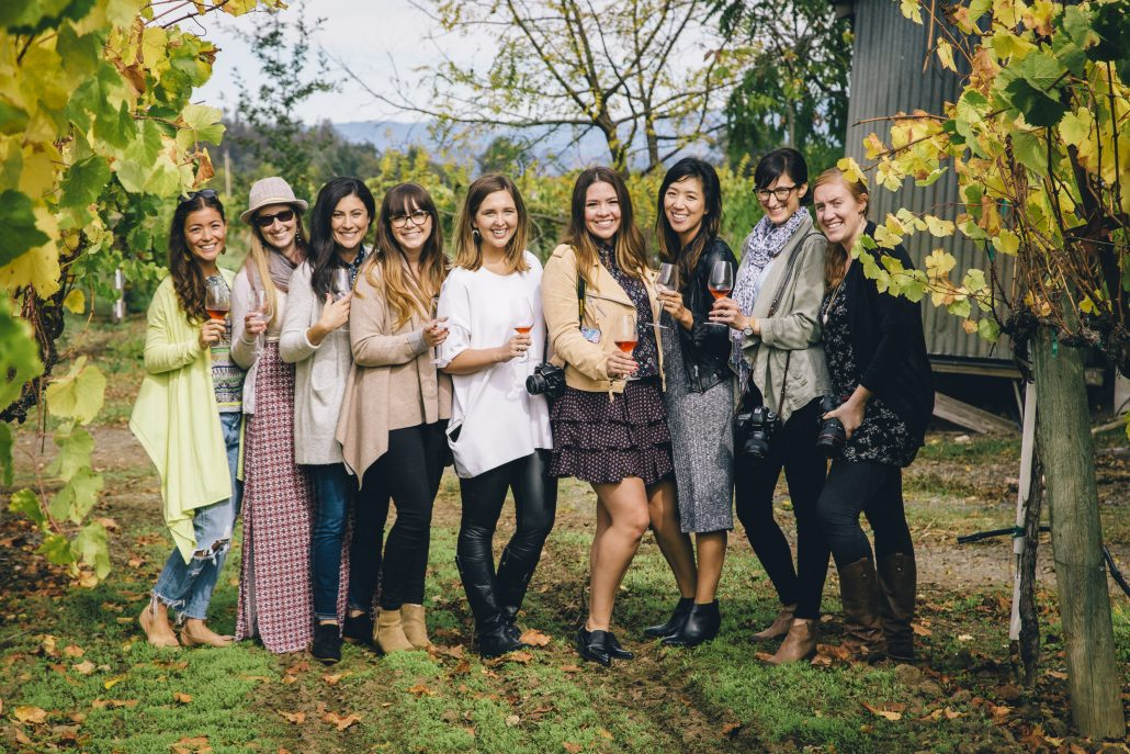 Blogger Event at the La Crema Estate at Saralee's Vineyard