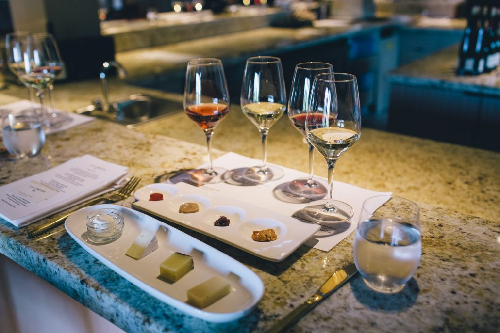 Wine and Cheese Pairing at the La Crema Estate