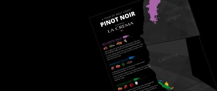 Infographic: A Tour of West Coast Pinot Noir