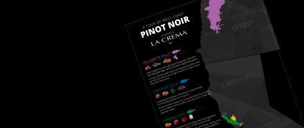 Infographic: A Tour of West Coast Pinot Noir