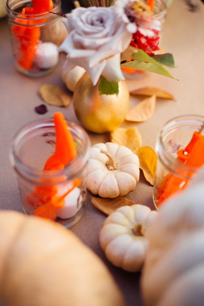 Fill mason jars with all the right pumpkin carving tools for your guests   Pumpkin Carving Party