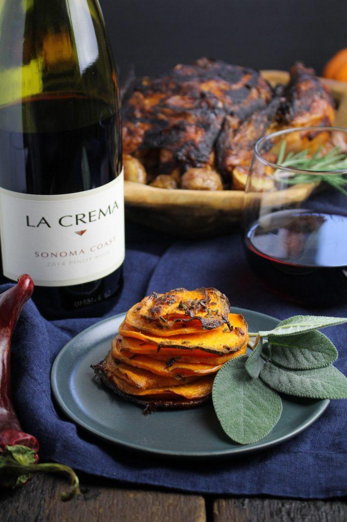 Latin Thanksgiving: Chipotle Sweet Potato Pommes Anna