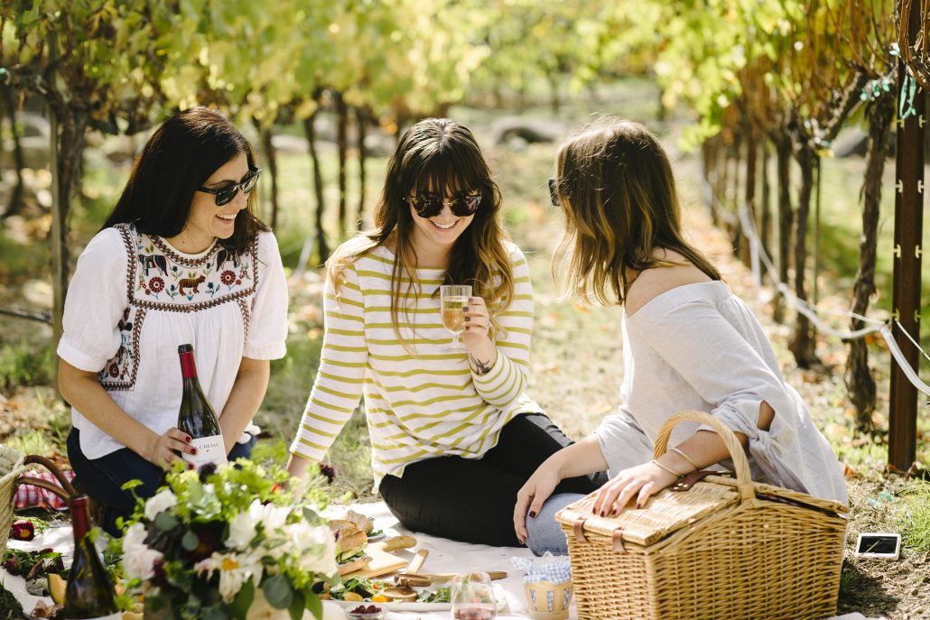 Wine Country Picnic at La Crema