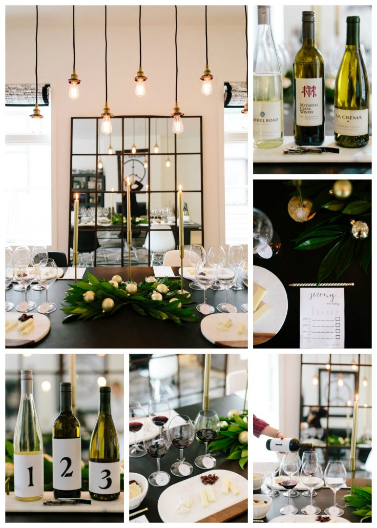 Tips for hosting a classy and elegant holiday blind wine tasting.