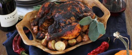 Latin Thanksgiving: Mole Roasted Chicken