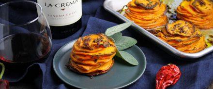 Latin Thanksgiving: Chipotle Sweet Potato Pommes Anna hero image