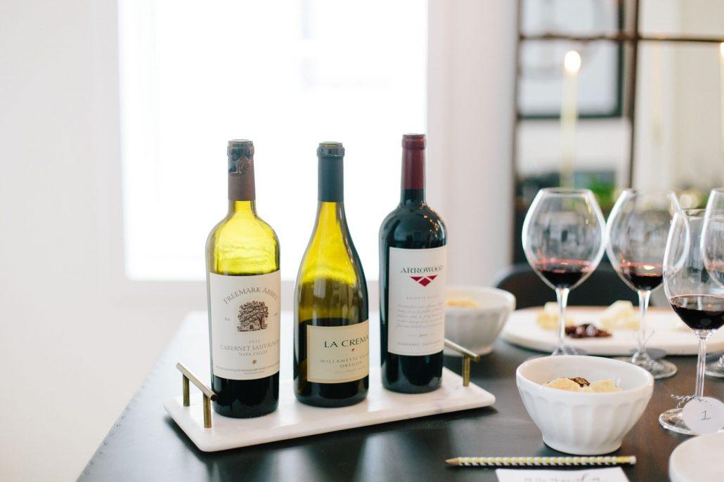 Freemark Abbey Napa Valley Cabernet Sauvignon, La Crema Willamette Valley Pinot Noir and Arrowood Knights Valley Cabernet Sauvignon