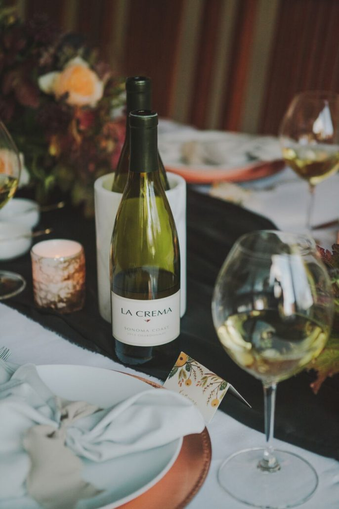 Never forget the wine! Stock up on Chardonnay (and Pinot Noir) for Friendsgiving and Thanksgiving celebrations.