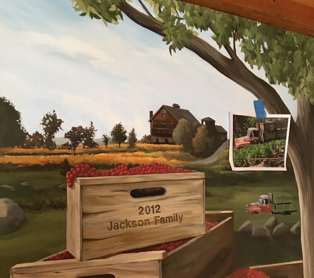 Saralee's Historical Estate Mural Update
