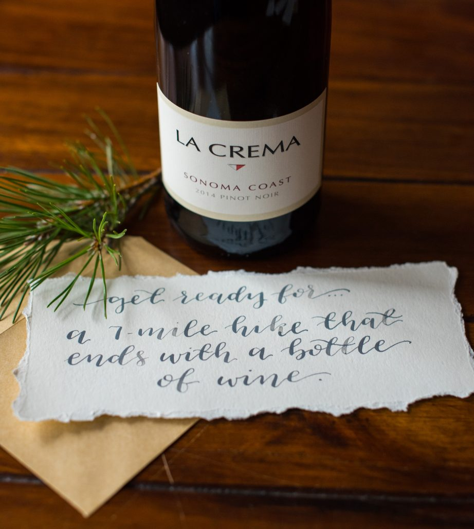 "DIY Coupons: ""Get ready for...a 7-mile hike that ends with a bottle of wine."""