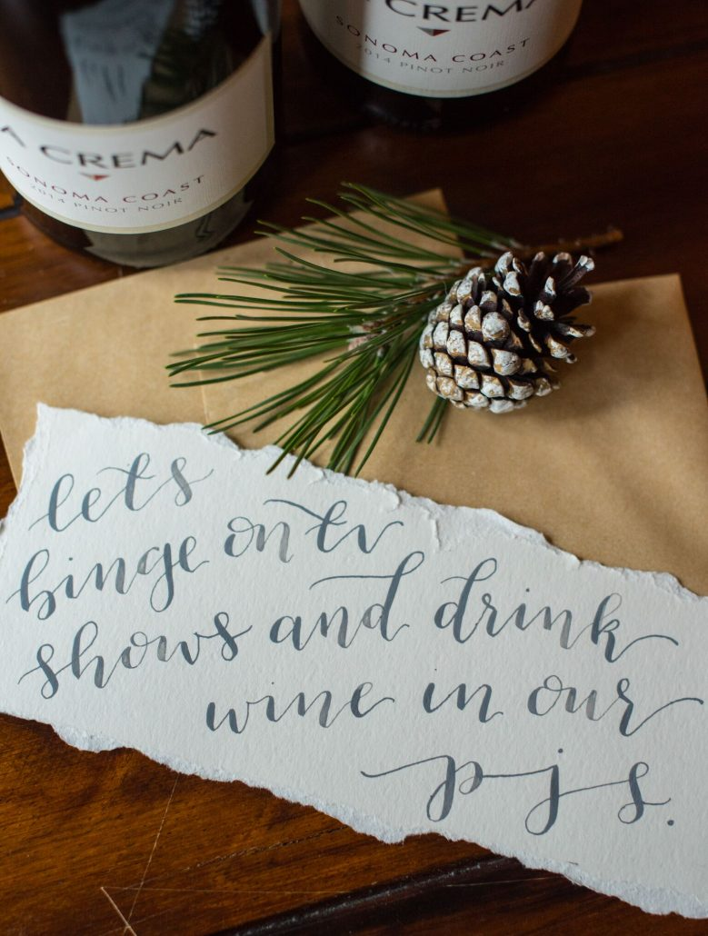 "DIY Coupons: ""Let's binge on TV shows and drink wine in our PJs."""