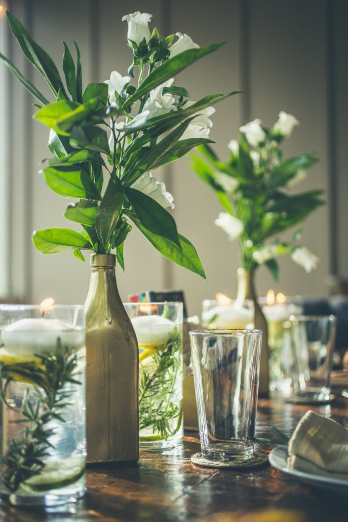 Planning a Dinner Party: Start with a theme and go from there.