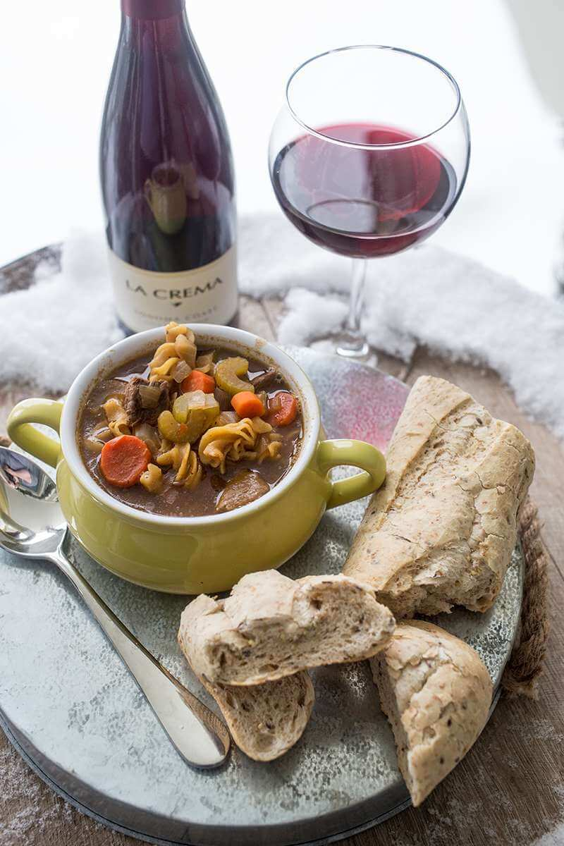 Winter recipes: Après Ski Beef and Noodle Stew