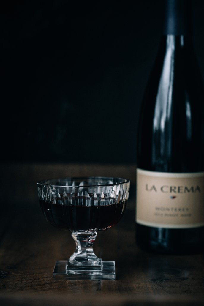 La Crema Monterey Pinot Noir to pair with spiced popcorn