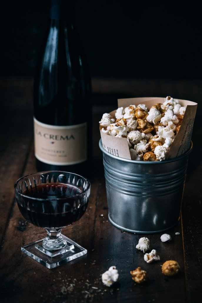 Spiced Popcorn: Pepper and Caramel