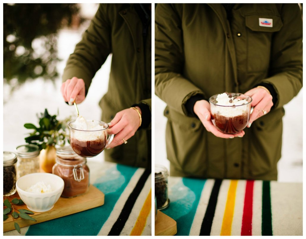 Hot Chocolate Bar for your Winter Wonderland Party