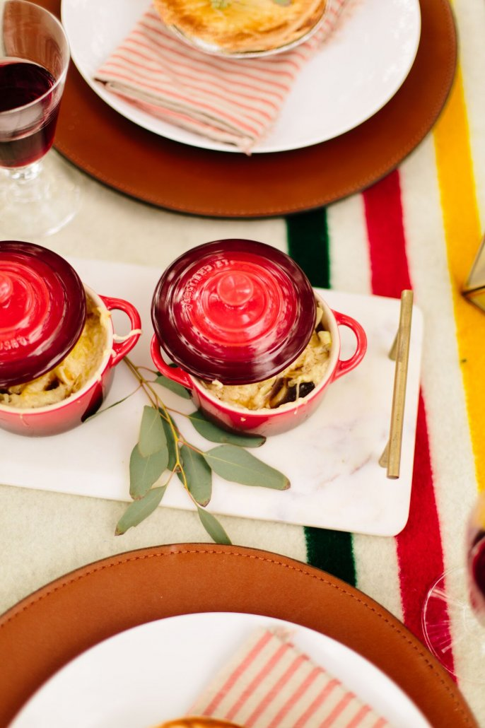 French Onion Soup for a Winter Wonderland Party