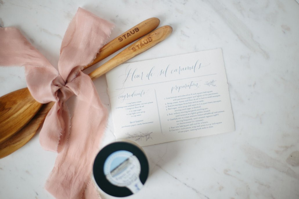 DIY Recipe Kit for Valentine's Day of Fleur de Sel Caramels