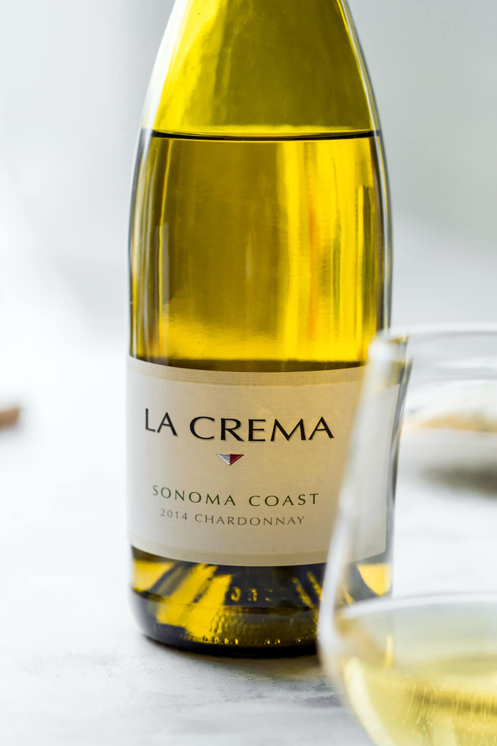 La Crema Sonoma Coast Chardonnay to pair with Chorizo Shawarma Crepes with Lemon Tahini