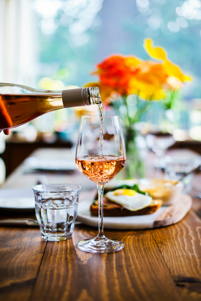 La Crema's Monterey Rosé is the perfect pairing for spring brunch